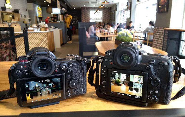 Panasonic S1R and Nikon D850